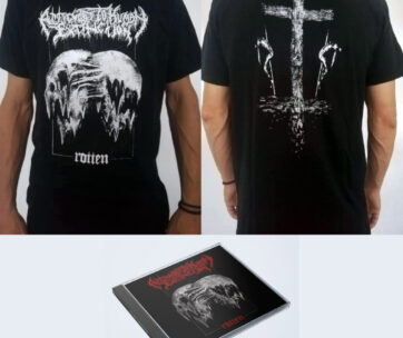 Bundle (T-shirt + CD) BW